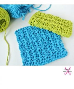 Tiny Towels crochet washcloth pattern by Celina Lane on CraftCoalition.com